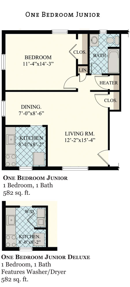 Greenville Place Apts. 1Br