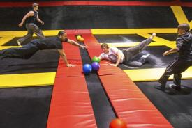Wilmington trampoline park bounces into action