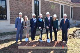 News: Pettinaro Breaks Ground on New Montchanin Center Addition