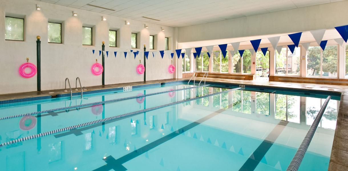 Photo of the indoor pool at Paladin Club Condominiums