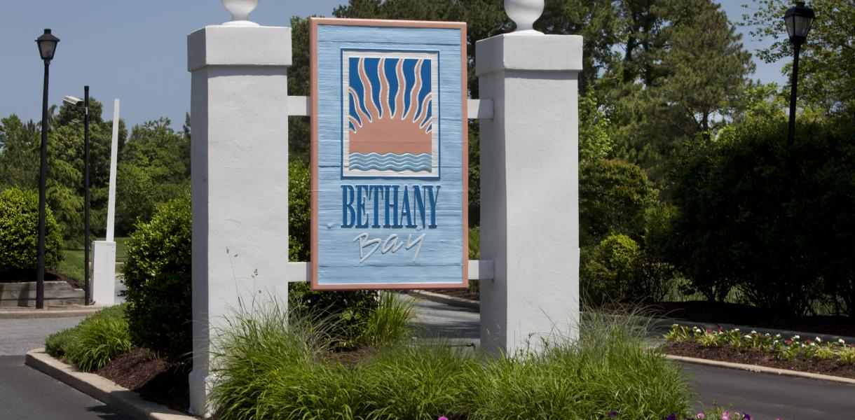 sign for Bethany Bay Resort Community & Golf Club